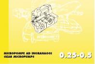 Serie 0,25-0,5 Micropompe