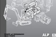 Serie ALP pompe a ingranaggi in alluminio