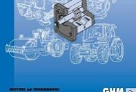 GHM series aluminum/cast iron gear motors
