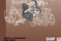 Serie GHP pompe a ingranaggi in alluminio/ghisa