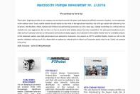 Marzocchi Pompe newsletter Nr. 2/2016