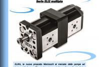 Multiple ELIKA series -  low noise, low ripple, high efficiency gear pumps