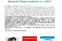 Marzocchi Pompe newsletter # 1/2017